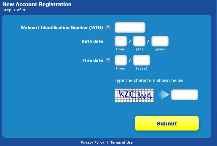 WalmartOne Associate Portal Register