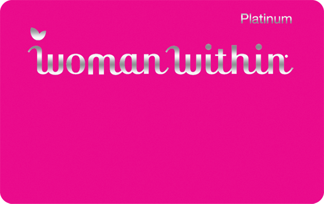 Woman Within Credit Card Logo