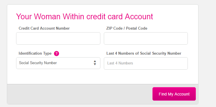 Woman Within Credit Card Register