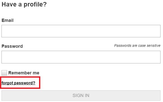 Macys Credit Card Forgot Password
