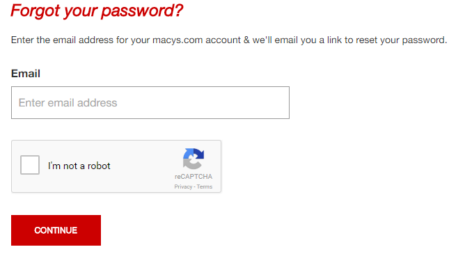 Macys Credit Card Forgot Password 2