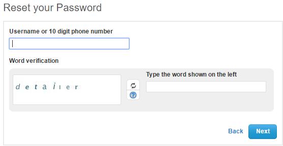 Vonage Forgot Password 2