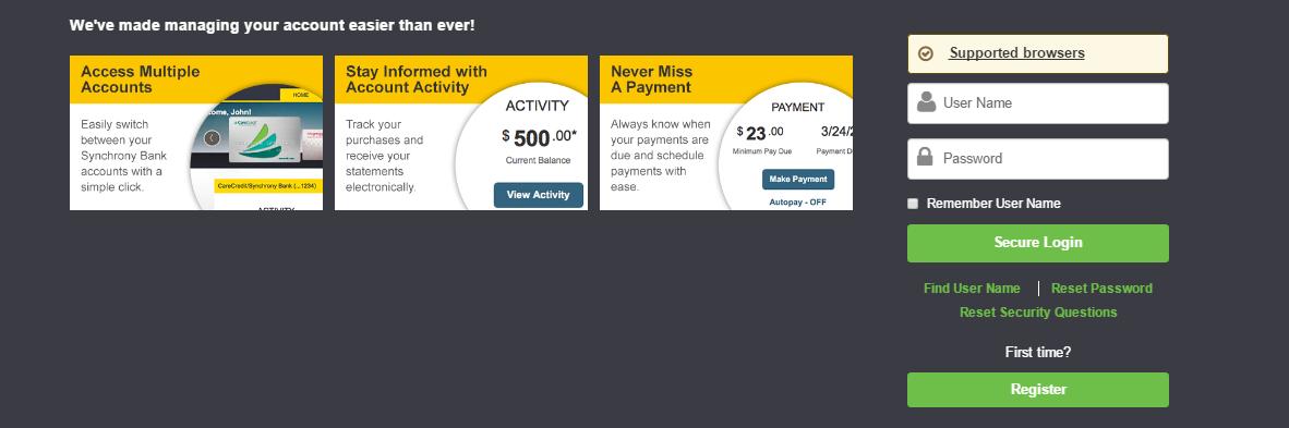 Midas Credit Card Bill Payment