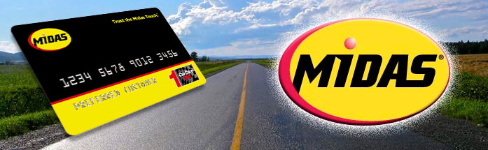 Midas Credit Card Logo