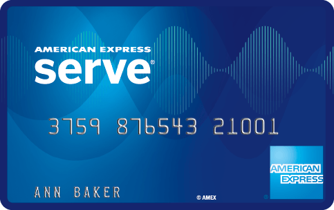 American Express Serve Card Logo