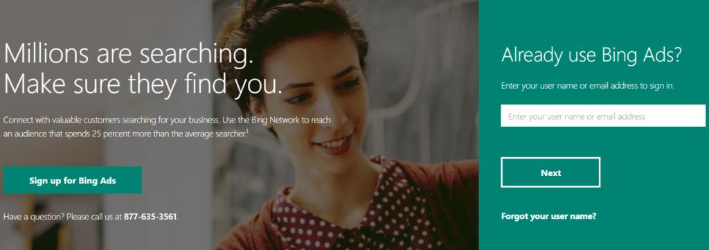 Bing Ads Login