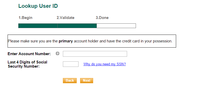 Dicks Sporting Goods Credit Card Forgot Password