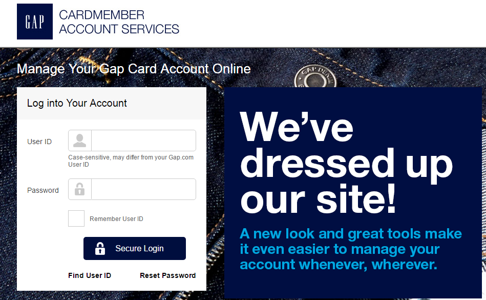 gap account