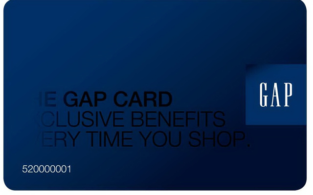 Gap Credit Card Logo