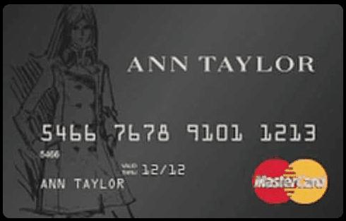 Ann Taylor Credit Card Logo