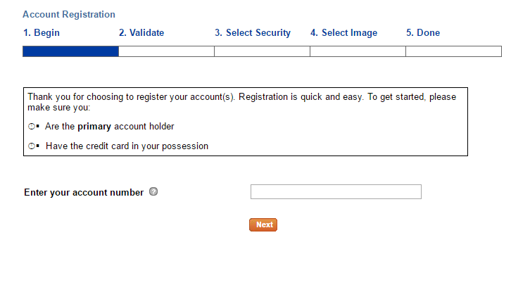 Belk Credit Card Register