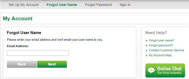 CenturyLink Forgot Username