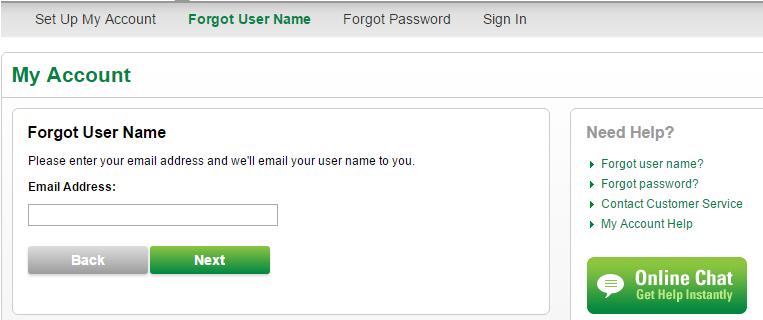 CenturyLink Forgot Username