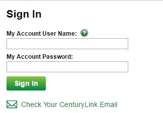 CenturyLink Login 2