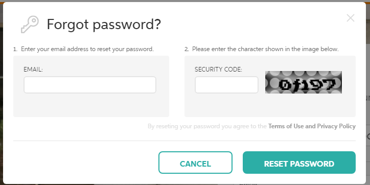 Chegg Reset Password
