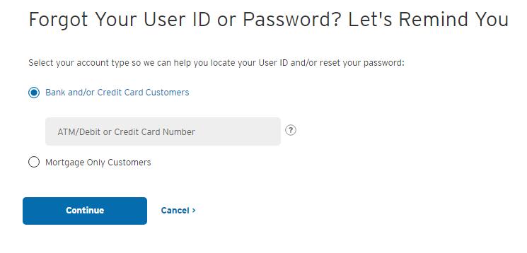 Citi Simplicity Card Forgot Password 2
