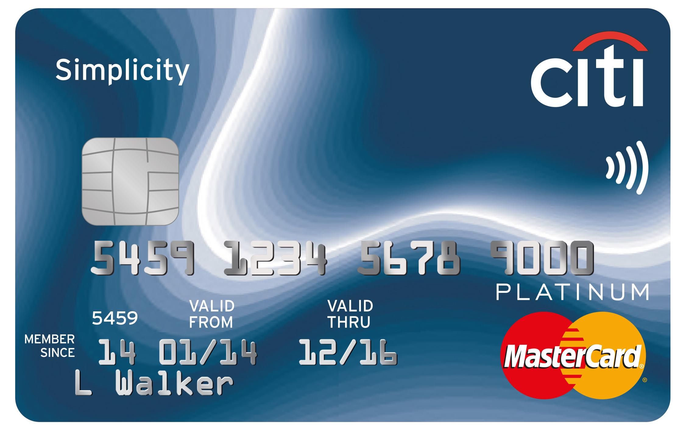 Citi Simplicity Card Login, apply & Payment