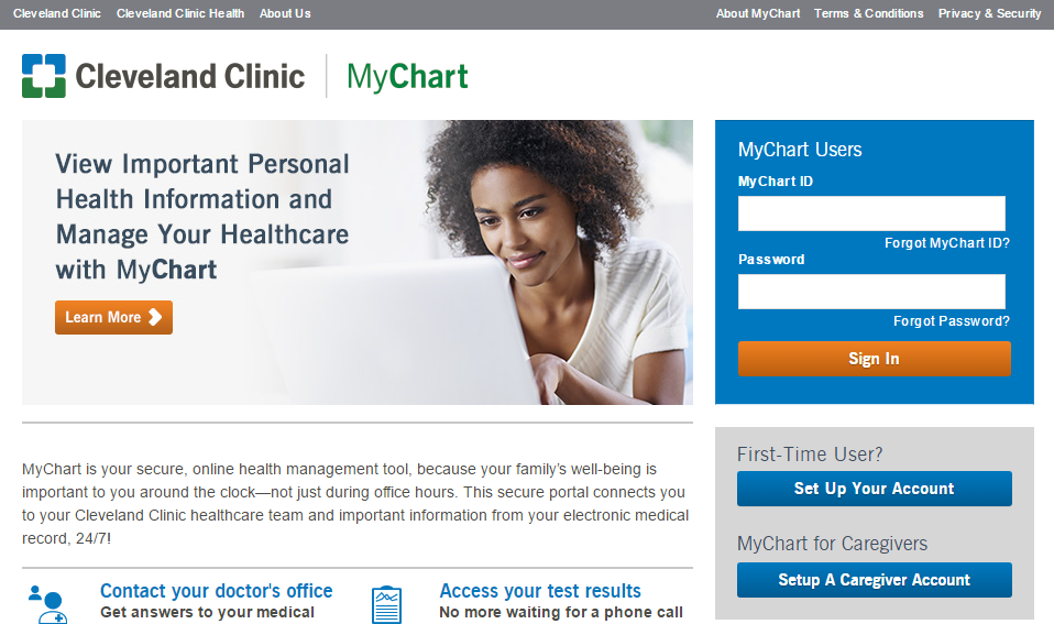 Cleveland Clinic MyChart Login