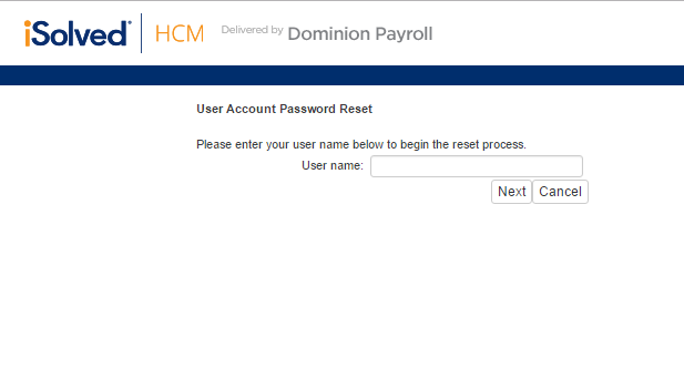 Dominion Payroll Forgot Password 2