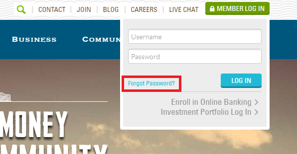 Elevations Credit Union Forgot Password