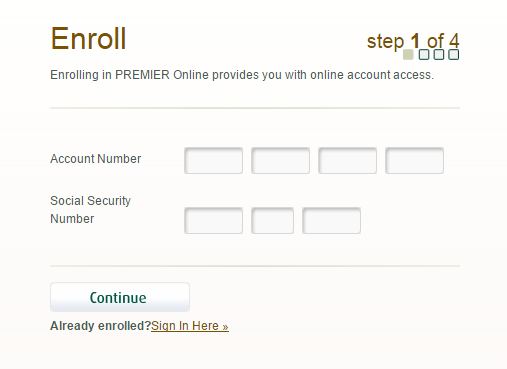 First Premier Credit Card Enroll