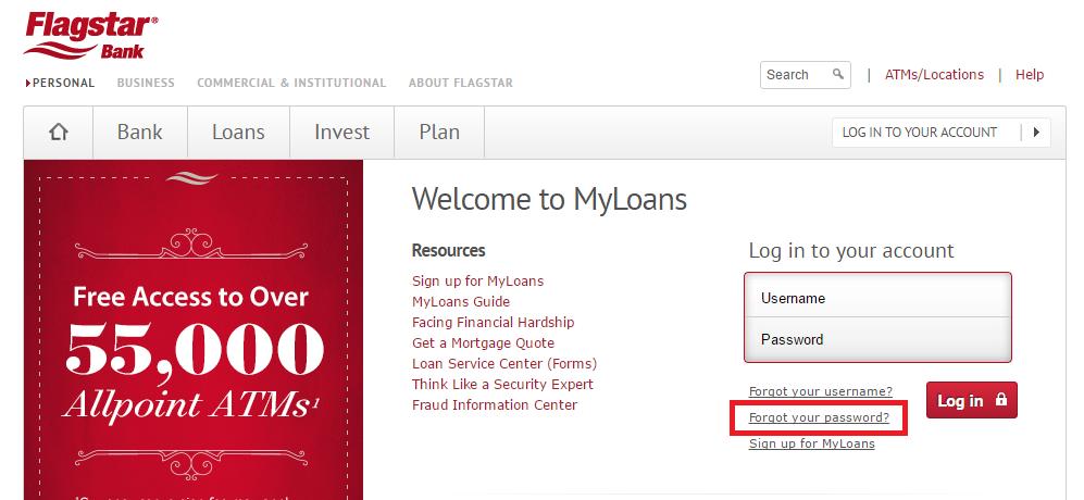 Flagstar Mortgage Forgot Password 2