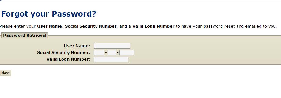 Flagstar Mortgage Forgot Password 3