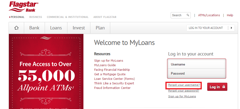 Flagstar Mortgage Forgot Password