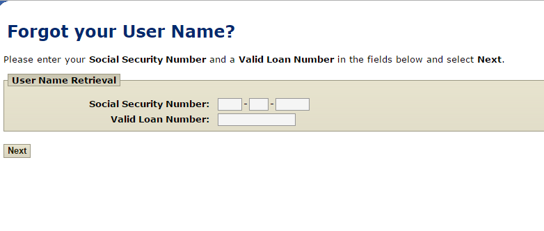 Flagstar Mortgage Forgot Username