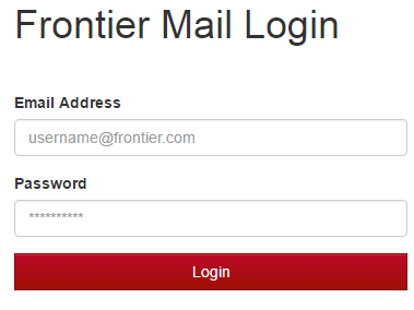 Frontier Webmail Sign In