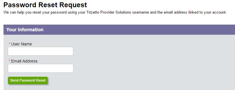Gateway EDI Forgot Password 2