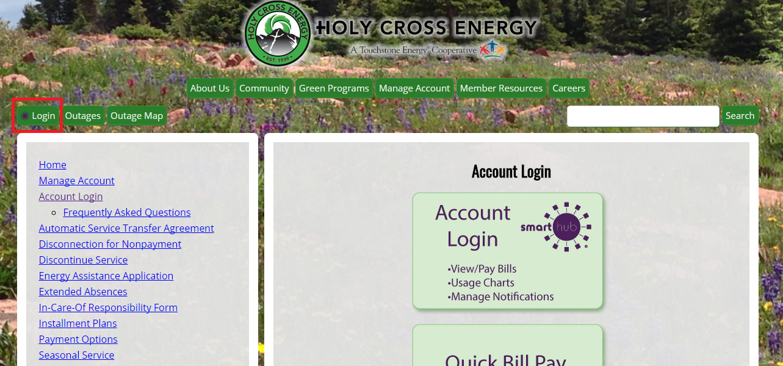 Holy Cross Account Login