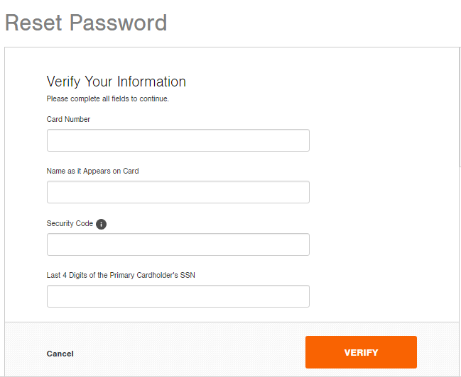 Home Depot Credit Card Login - Bill Pay Help