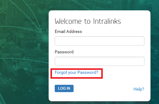 Intralinks Forgot Password