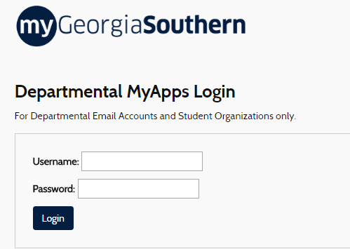 My Georgia Southern Portal Sign On