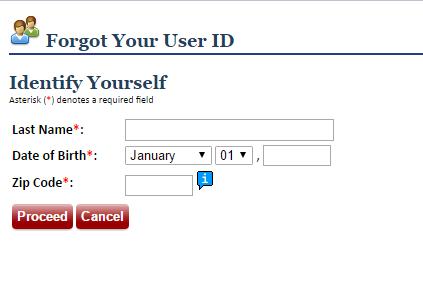 MyGeisinger Forgot ID