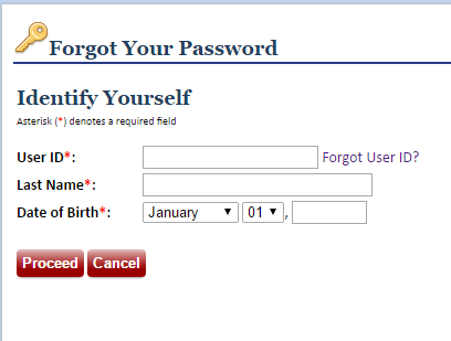 MyGeisinger Forgot Password