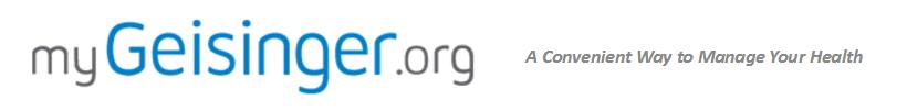 MyGeisinger Logo