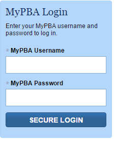 PBGC MyPBA Sign In