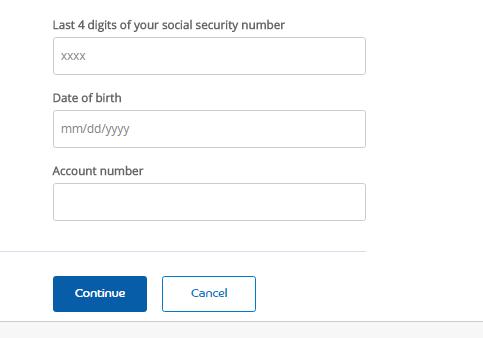 Princess Cruises Credit Card Forgot Username or Password