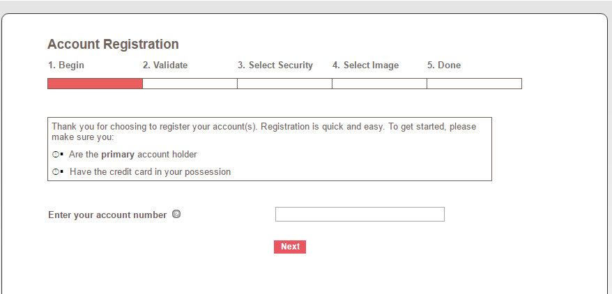 QVC Credit Card Register