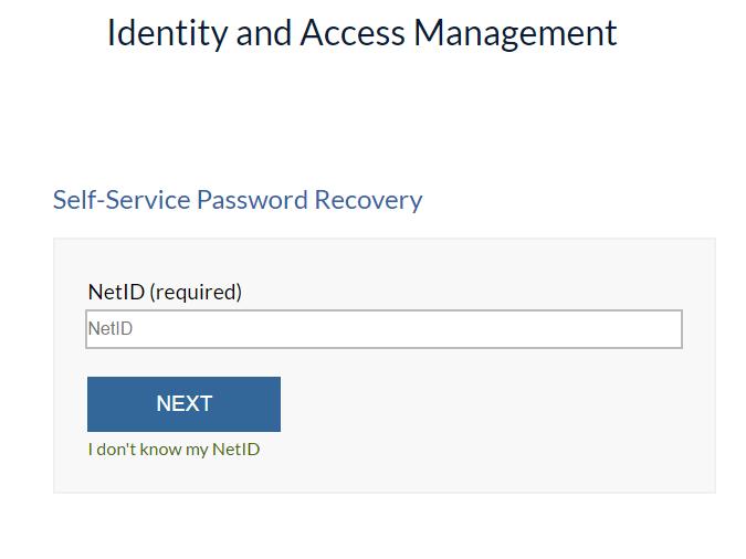 UIC Blackboard Forgot Password