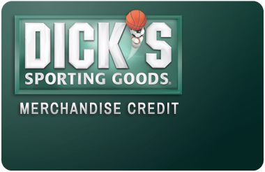 Dicks Sporting Goods Credit Card Logo