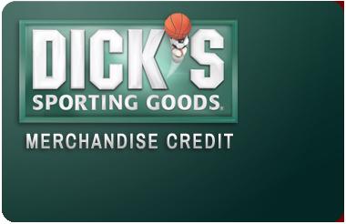Dicks Sporting Goods Credit Card Logo