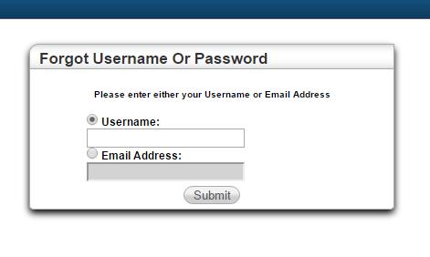 NPENN HAC Forgot Password
