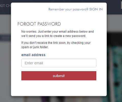 Zulily Forgot Password 2