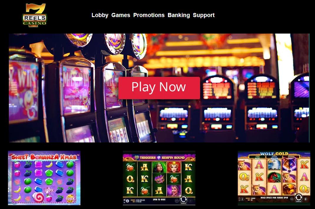 7 Reels Casino login mobile