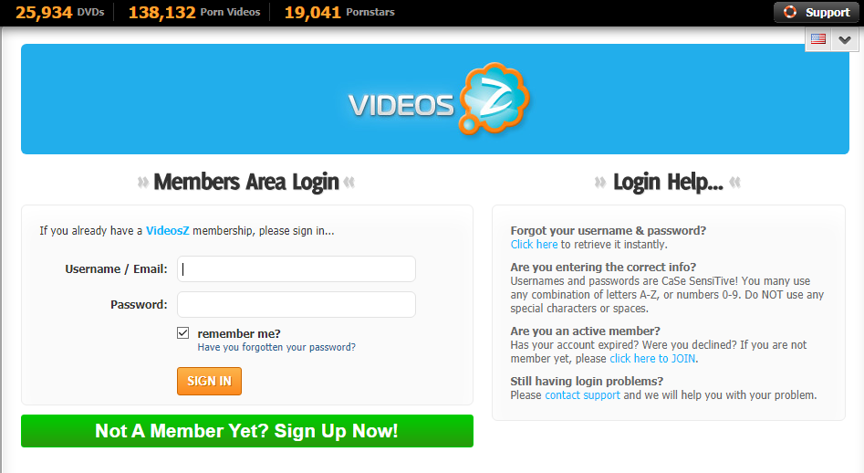 Login VideosZ