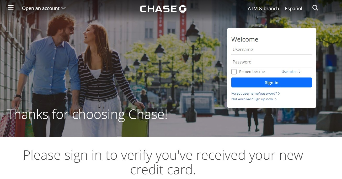 chase.com/verifycard – How to verify your Chase credit card online? | Activation