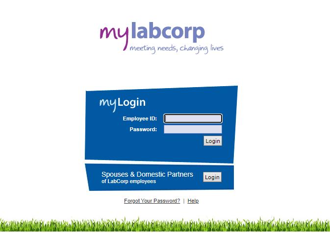 MyLabCorp Employee Login
